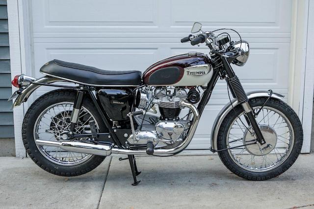 Bonhams 1967 Triumph 649cc T120r Bonneville Frame No T120rdu61062