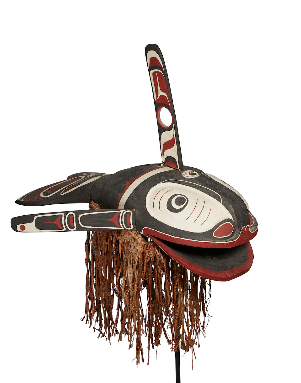 A Northwest Coast articulated mask
