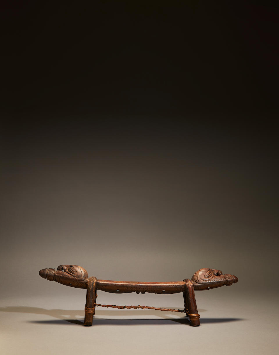 Iatmul Headrest, East Sepik Province, Middle Sepik River, Papua New Guinea