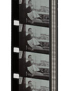 "BRUCE, LENNY. 1925-1966. An unreleased, edited 16 mm film by ""Count"" Lewis DePasquale featuring Lenny Bruce, approximately 450 feet, running time 12:37, black-and-white, original jazz soundtrack (likely by ""Count"" Lewis),"