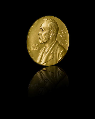 ZERNIKE, FRITS. 1888-1966. THE 1953 NOBEL PRIZE MEDAL FOR PHYSICS.