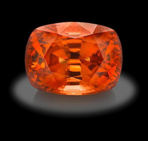 Natural Orange Zircon