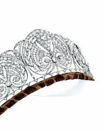 A diamond diadem