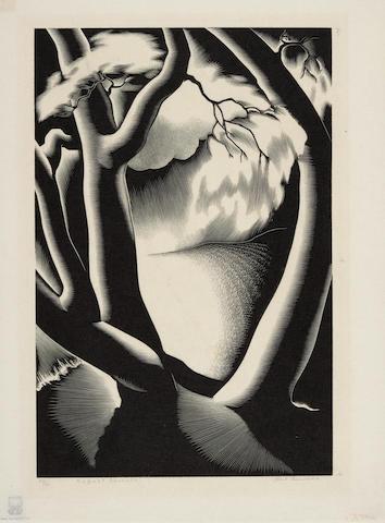 Paul Landacre (1893-1963); August Seventh;
