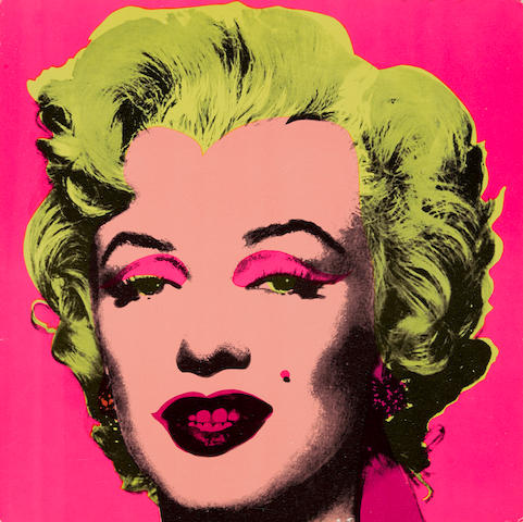 Andy Warhol (1928-1987); Marilyn (Invitation);