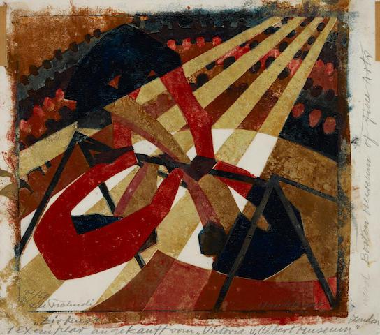 Lill Tschudi (1911-2004); In the Circus;