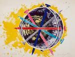 James Rosenquist (1933-2017); Silk Screams; Echo Pale; (2)