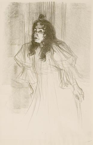 Henri de Toulouse-Lautrec (1864-1901); Miss May Belfort en Cheveaux;