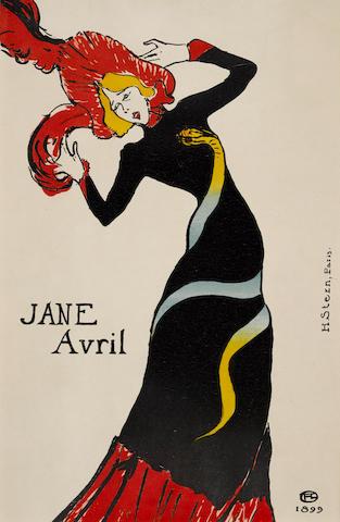 Henri de Toulouse-Lautrec (1864-1901); Jane Avril;