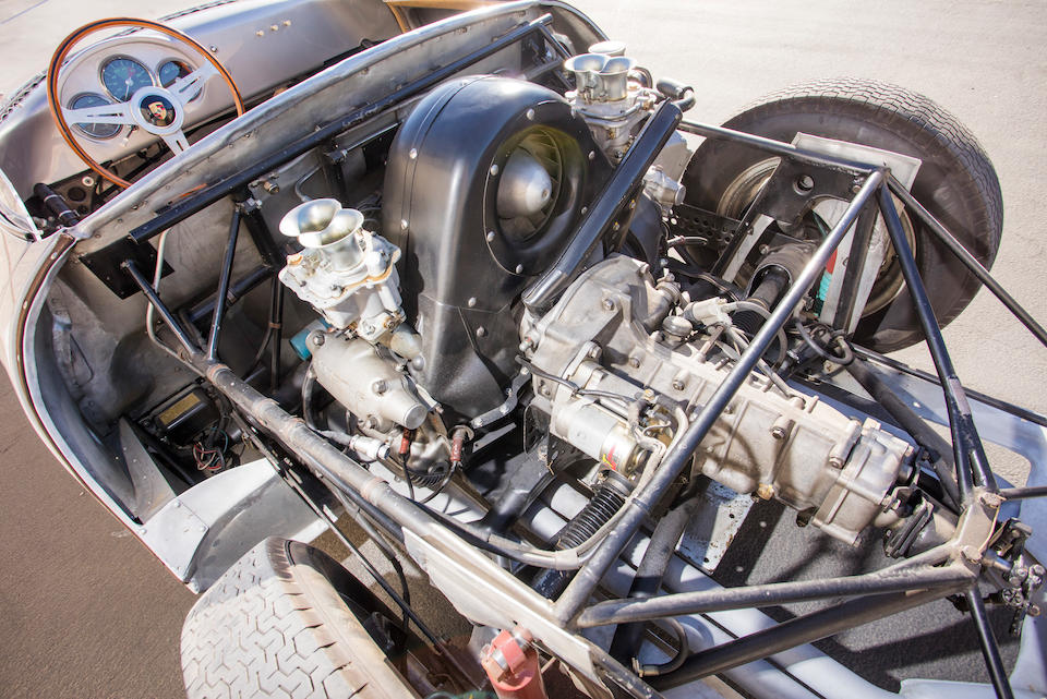 <B>1958 Porsche 550A Spyder</B><br />Chassis no. 550A-0145<br />Engine no. P90127
