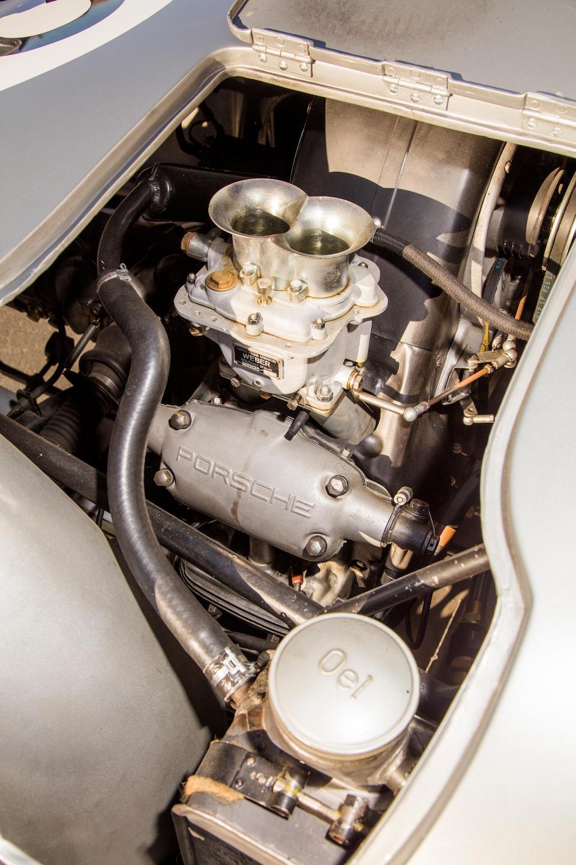 <B>1958 Porsche 550A Spyder</B><br />Chassis no. 550A-0145<br />Engine no. P90127
