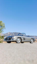 Prototype example and first US-market Roadster Exceptional restoration by Rare Drive, Inc,1957 Mercedes-Benz 300SL Roadster