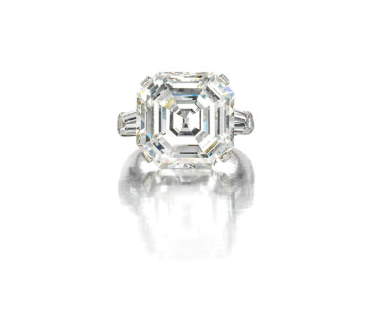 A magnificent diamond ring, Graff
