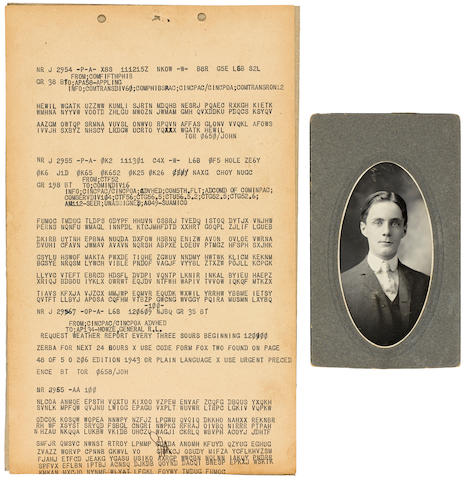 The Archive of Professor Lester S. Hill (1891-1961), US mathematician, and Cryptologist.