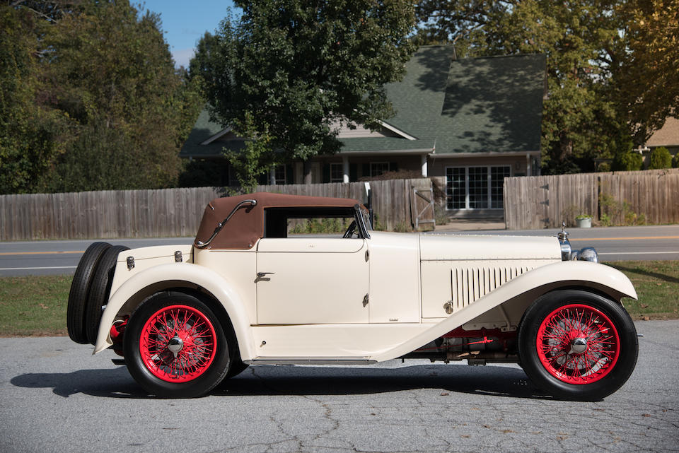 <b>1927 Georges Irat Model A Cabriolet</b><br />Chassis no. 2773<br />Engine no. 10769