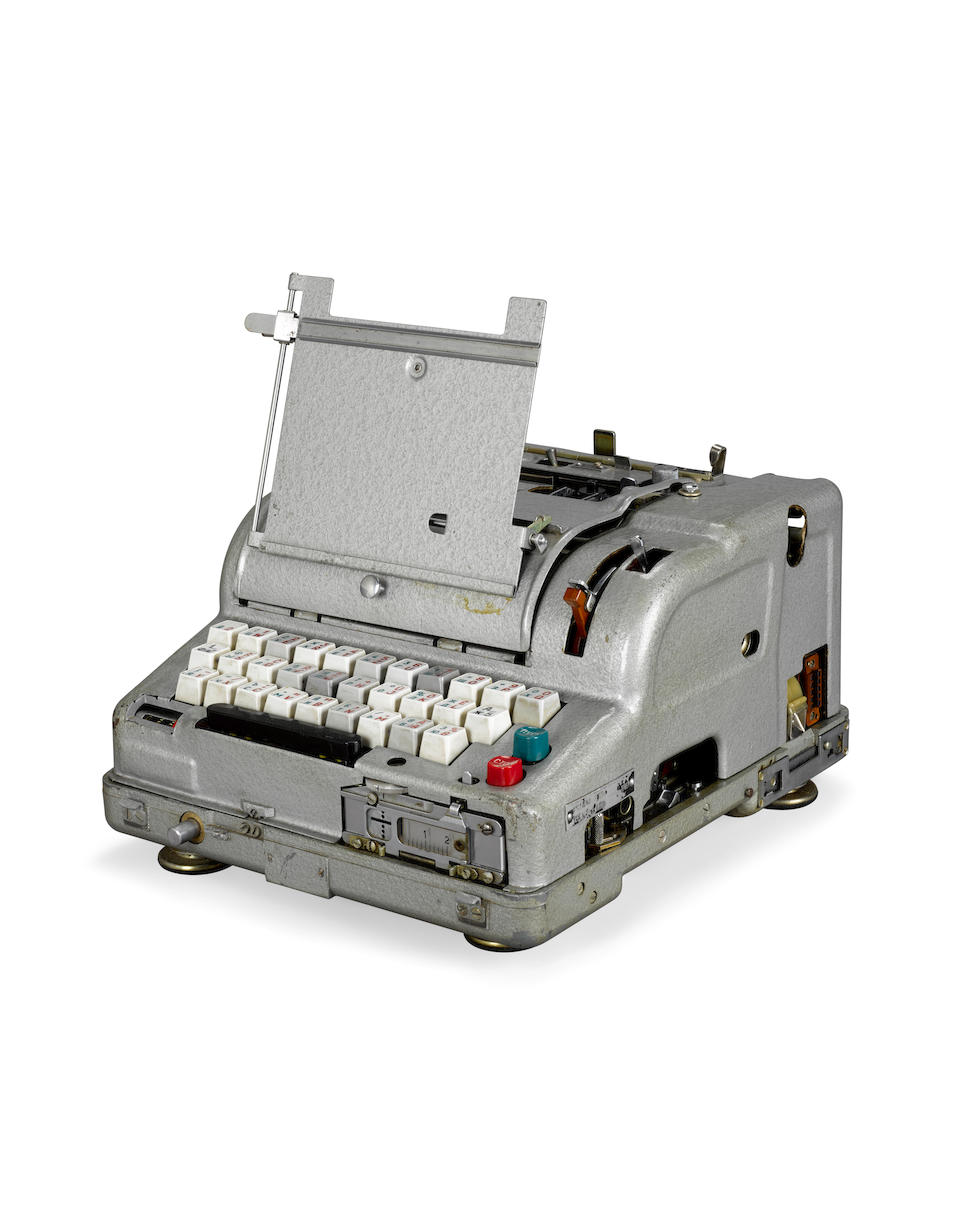 M-125 FIALKA CIPHER MACHINE. Russian, 1950s.