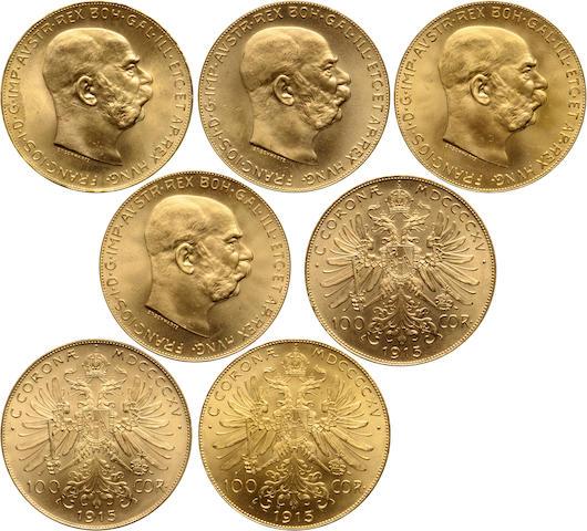Austria, 100 Coronas, 1915 (7)