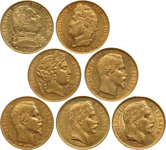 France, Napoleon III, Gold 20 Francs (7)