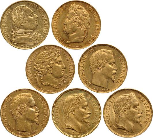 France, Napoleon III, Gold 20 Francs (7)