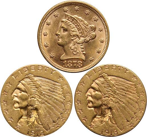 Quarter Eagles (3)