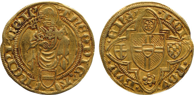 German States, Cologne, Dietrich II of Mörs (1414-1463), Goldgulden, ND (1419-25)