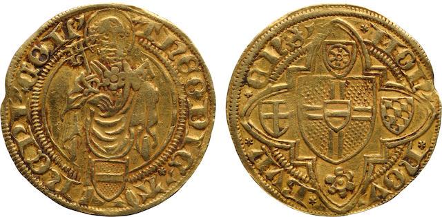 German States, Cologne, Dietrich II of Mörs (1414-1463), Goldgulden, ND (1419-25)