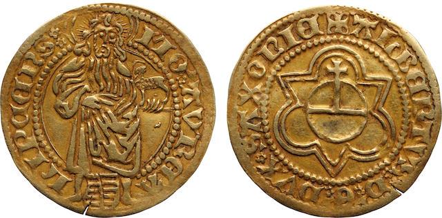 German States, Saxony, Albrecht as Duke (1464-1500) Goldgulden, ND