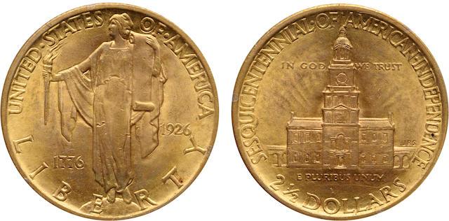 1926 Sesquicentennial $2.5 MS63 PCGS