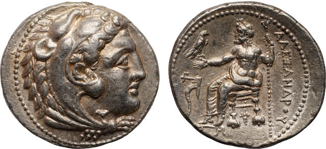 Kingdom of Macedon, Alexander III (The Great), AR Tetradrachm, 336-323 B.C.