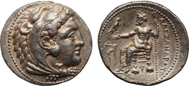 Kingdom of Macedon, Alexander III (The Great), AR Tetradrachm, 336-323 B.C.