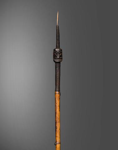 Big Nambas Peoples Sacred Spear, Malekula Island, Vanuatu