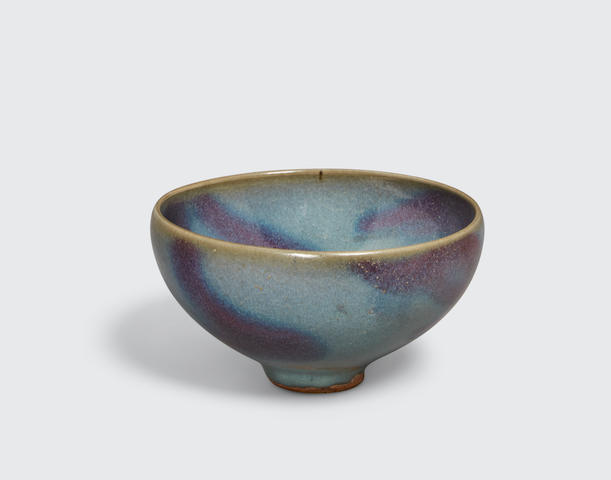 A JUNYAO PURPLE-SPLASHED BOWL 11th/12th century