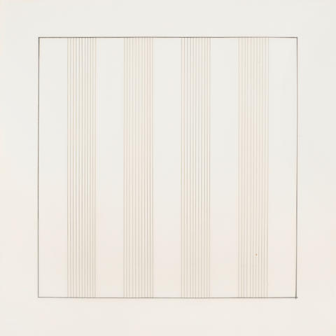 Agnes Martin (1912-2004); Paintings and Drawnings: Stedelijk Museum Portfolio;