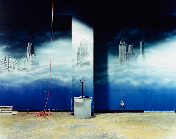Lisa Kereszi; Trashcan, Broadway Arcade, Times Square, NYC;