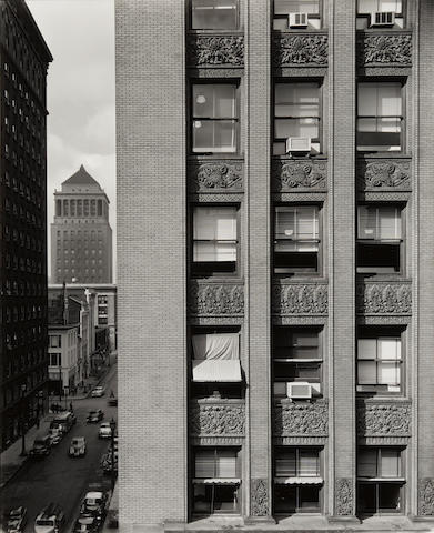 John Szarkowski (1925-2007); Three Buildings--Chicago, St. Louis and Columbus; (3)