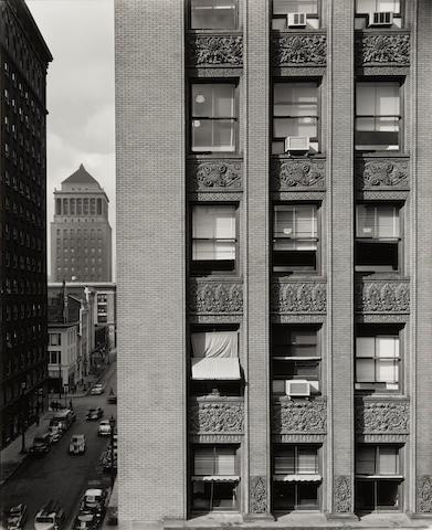 John Szarkowski (1925-2007); Three Buildings--Chicago, St. Louis and Columbus; (3)