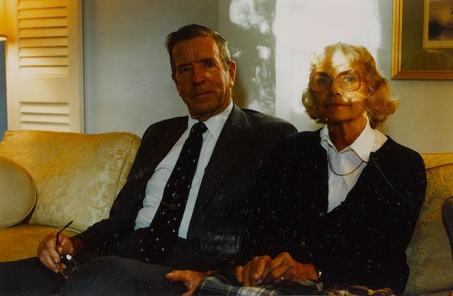 William Eggleston (born 1939); Untitled (Seated couple);