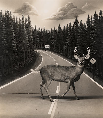 Steve Fitch (born 1949); Diorama, I-75, Gaylord, Michigan;