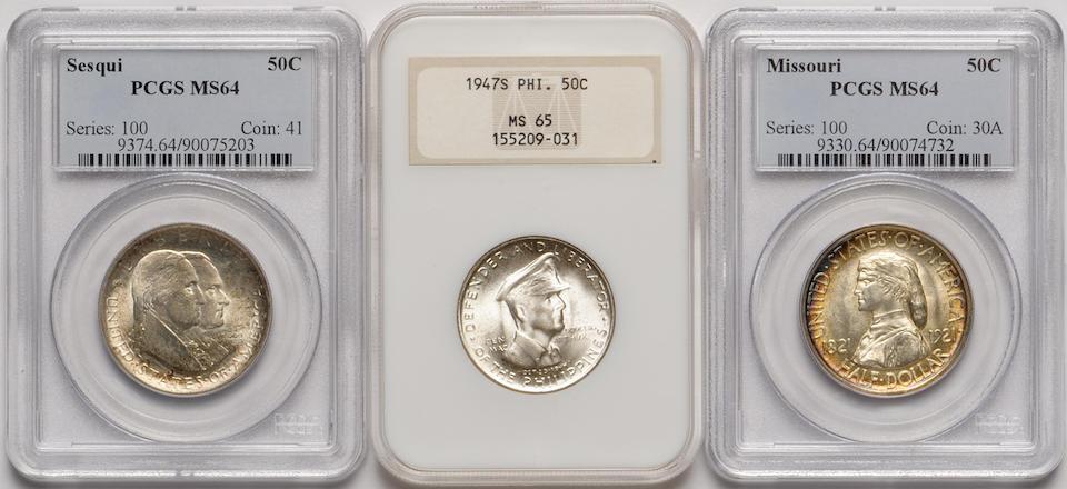 1921 Missouri 50C MS64 PCGS