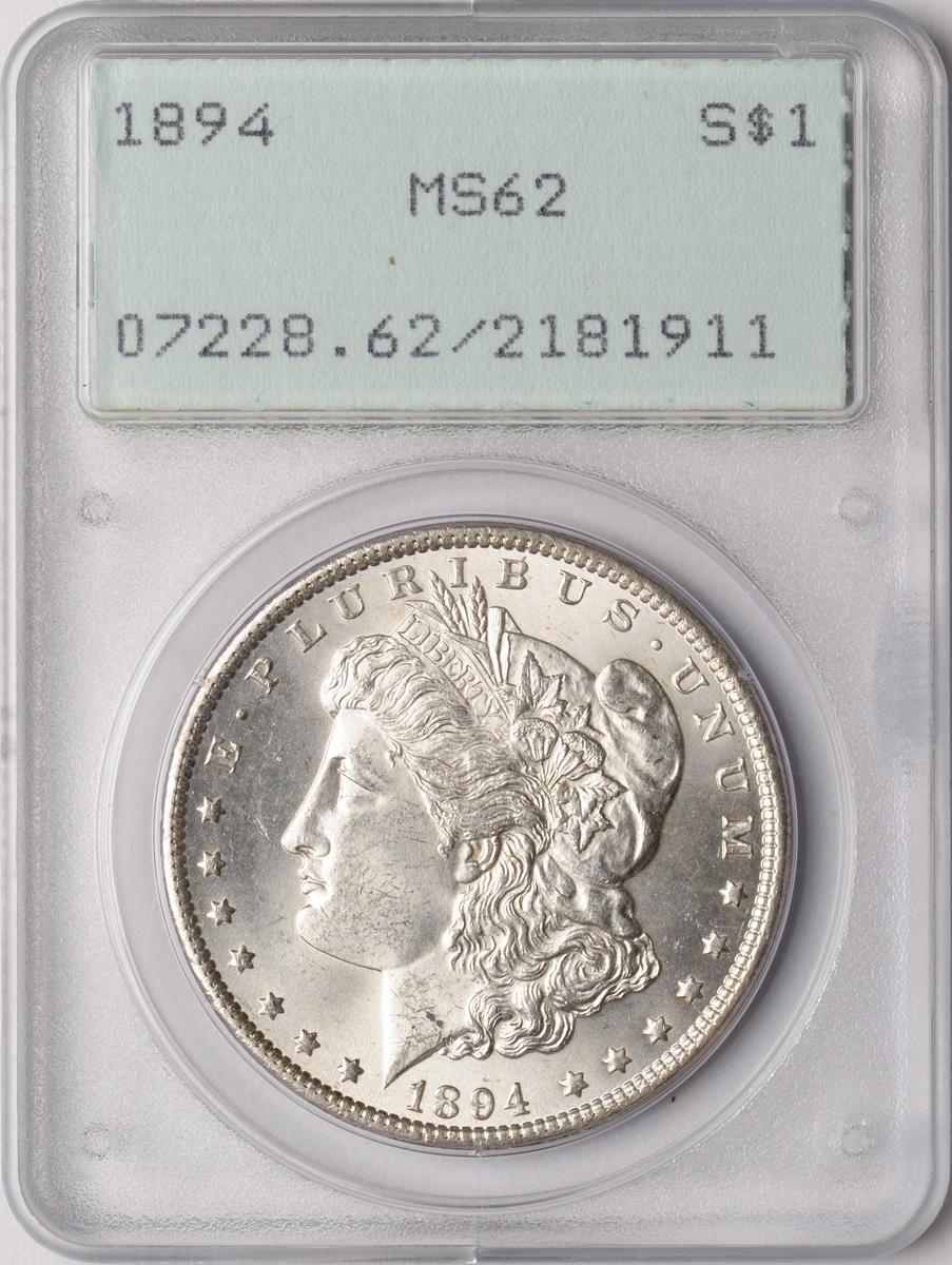 1894 $1 MS62 PCGS