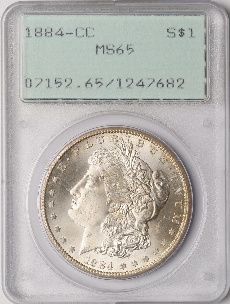 1884-CC $1 MS65 PCGS