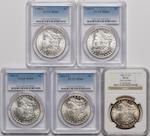Graded Morgan Dollars (5)