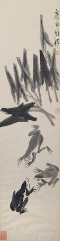 Qi Baishi (1864-1957) Frogs