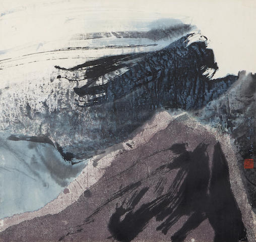 Liu Guosong (b. 1932) Full in the Wind, 1968