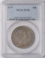 1797 50C XF40 PCGS