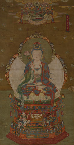 Anonymous (Ming dynasty or later)  Pure Wisdom Bodhisattva
