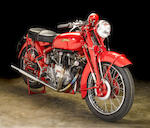 1950 Vincent 998cc Rapide Series-C Touring Model Frame no. RC5975 Engine no. F10AB/1/4075