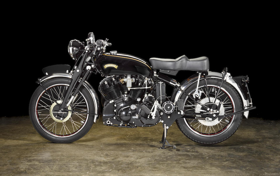 1950 Vincent 998cc Black Shadow Series-C Frame no. RC7636B Engine no. F10AB/1B/5736