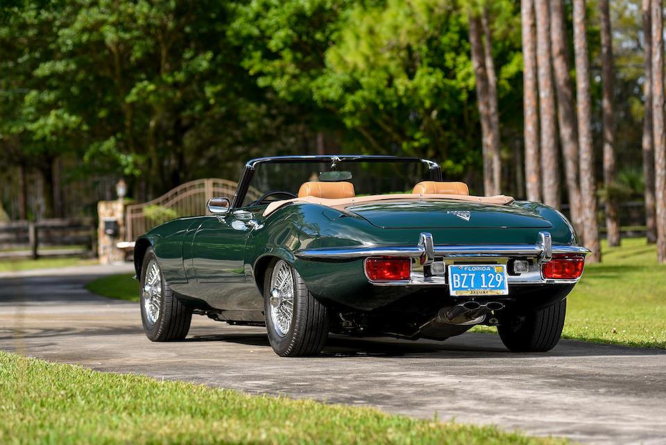 <b>1973 Jaguar E-TYPE SERIES III V12 ROADSTER</b><br />Chassis no. UD1S21671<br />Engine no. 7S 9755LA