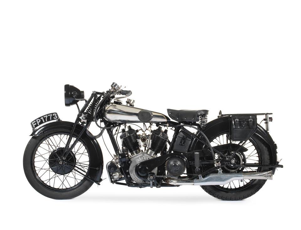 1926 Brough Superior 980cc SS80 Frame no. 437 Engine no. KTR/A 35485/Y (see text)